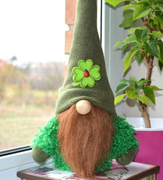 Download Lucky Gnome St Patrick's Day, Patrick Gnome, Irish style ...