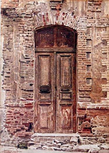 Dimitris Stathopoulos (b.1946) – watercolor on paper