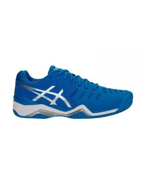 Gel-Dedicate 5, Chaussures de Gymnastique Homme, Bleu (Indigo Blue/White/Safety Yellow), 48 EUAsics