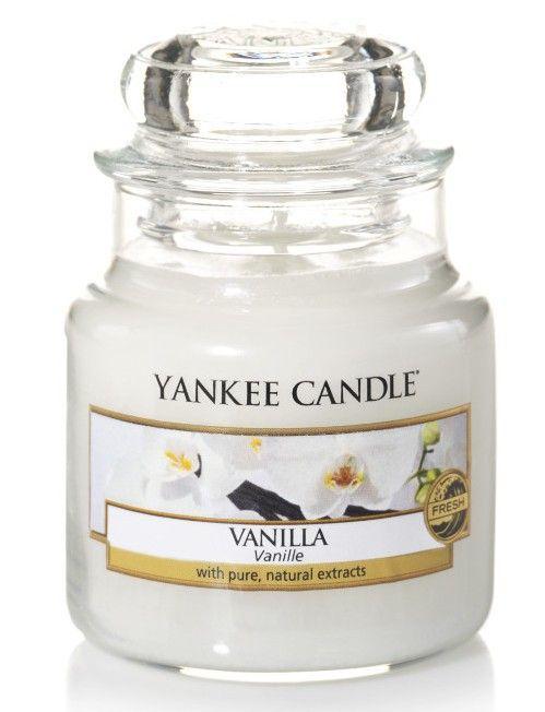 bougie parfumée petite jarre - Yankee Candle - Vanille