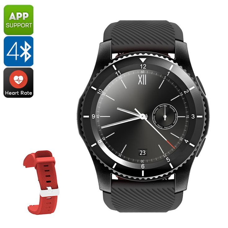 NO.1 G8 Phone Watch - 1 IMEI, Bluetooth 4.0, Sleep Monitor, Pedometer, Sedentary Reminder, Heart Rate Monitor, App Support - NO.1 G8 Phone Watch features 1 IMEI number. Thanks to this, it lets you make calls and send messages straight from your wrist.