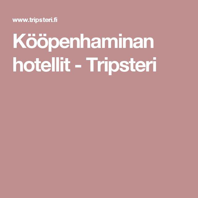 Kööpenhaminan hotellit - Tripsteri
