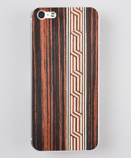 Taracea wood skins for iPhone5 - MEDINA