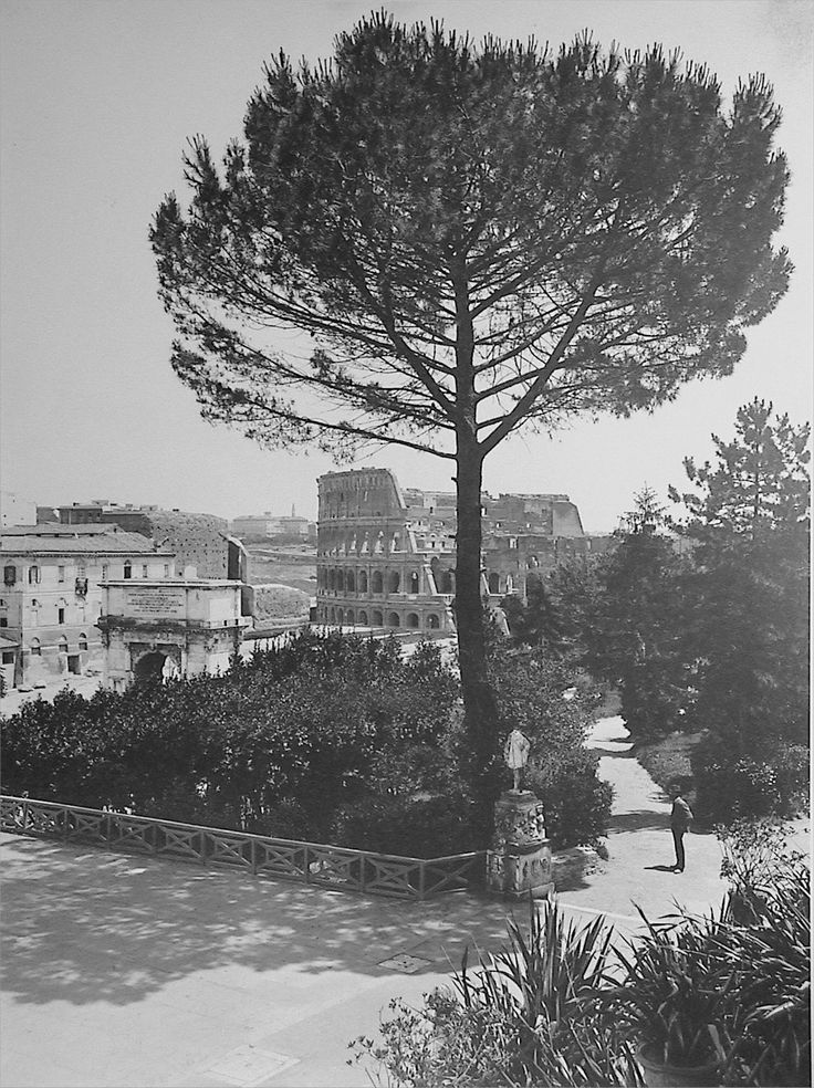 Rome - View from Colle Oppio, 1910