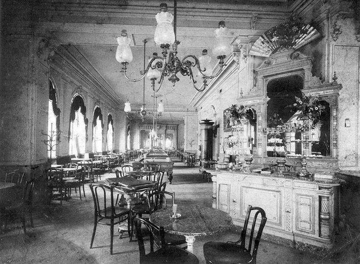 Kavárna Fenix uvnitř