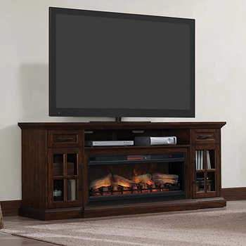 78 Quot Fireplace Console Sloane Features 5 200 Btu Infrared