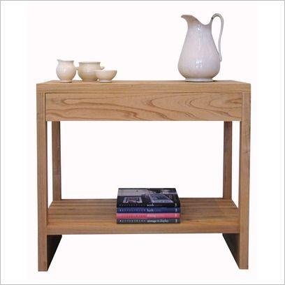 Narrow hall table #minimal