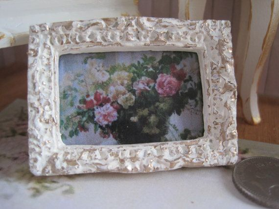 12th Scale Dollhouse Miniature French Shabby Chic by 12thCouture, £4.50