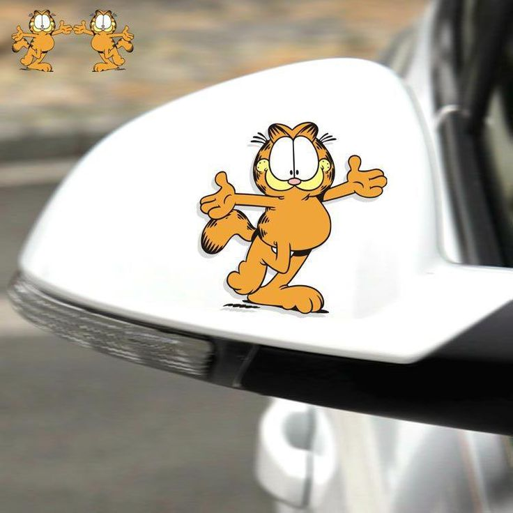 Garfield Car Sticker Decal