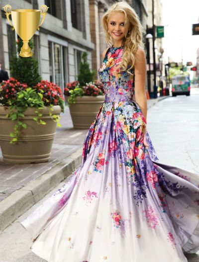 Длинные летние платья 2017 (126 фото): новинки, красивые ...