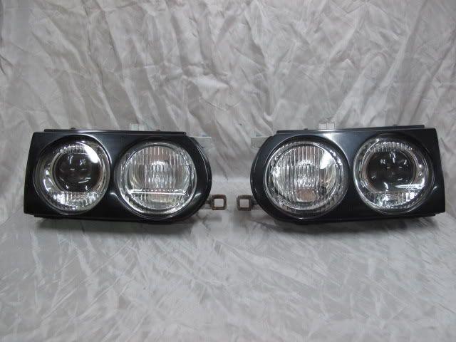 JDM Toyota Starlet EP82 Projector Headlights Glanza GT