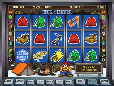 Игровые аппараты скалолазы где можно поиграть в онлайн казино украина