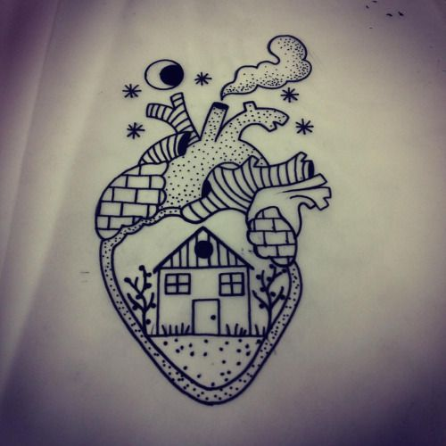 Home Is Where The Heart Is Tattoo Tumblr