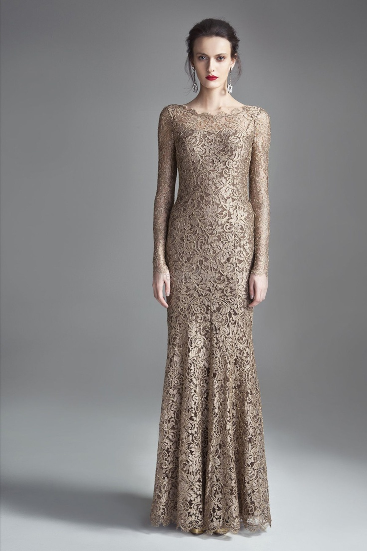 Breathtaking Sheath Ankle-length Evening Gown with Luxurious Lace