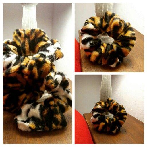 Tiger scrunchie