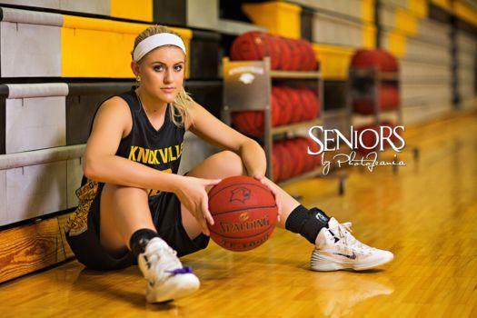 Sports Senior Picture Ideas –