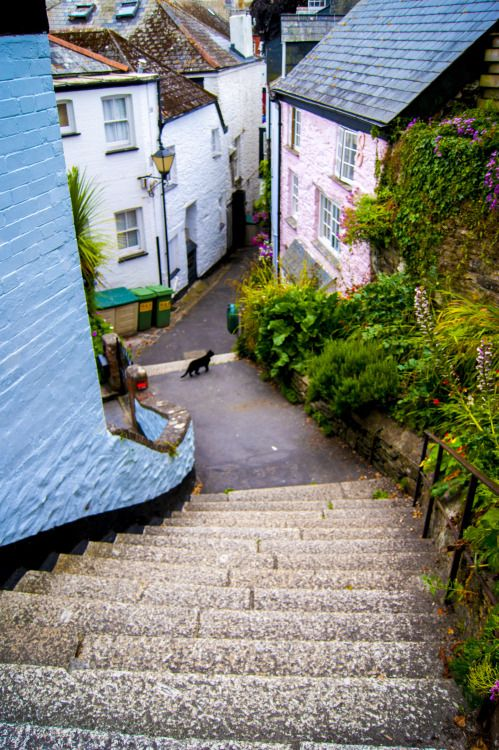 this-is-my-downfall:  Fowey, Cornwall - England 2013