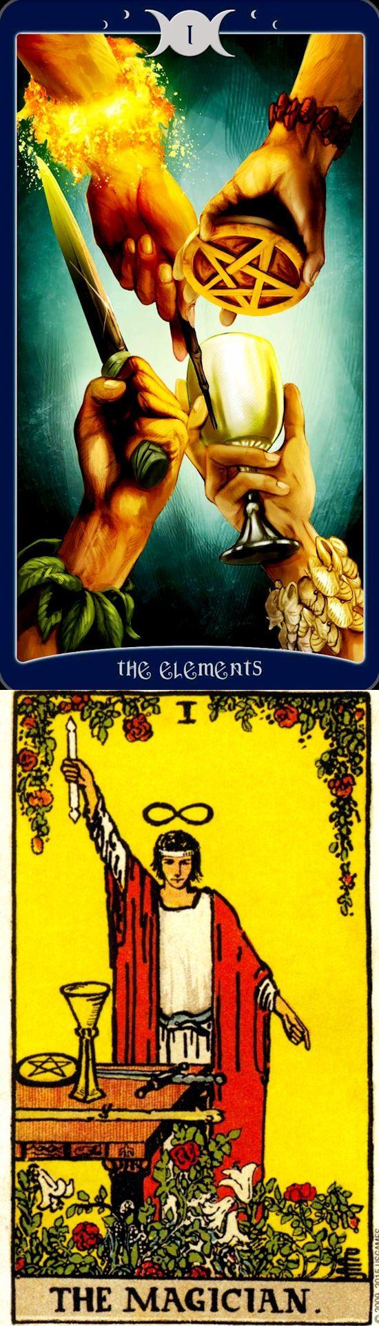 THE MAGICIAN: willpower and illusions (reverse). Book Of Shadows Tarot deck and Rider Centenial Tarot deck: love tarot card reading, tarot shirt vs read my tarot cards online free. The best tarot altar witchcraft and halloween food. #empress #tarotchart #witch #tarotmeanings