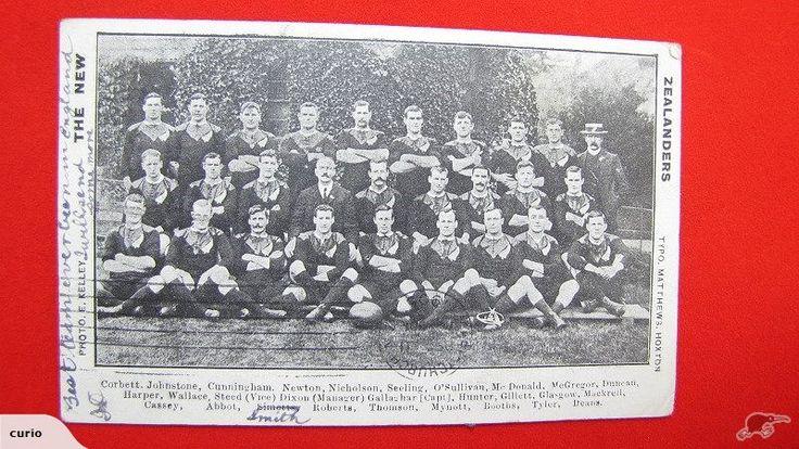 NZ Postcard 1905 All Blacks 'The New Zealanders' | Trade Me