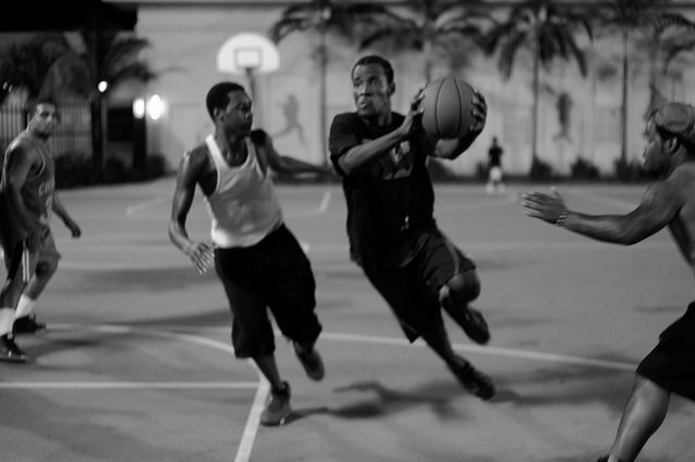 27. Basketball at Roberto Clemente Park, Miami | Flickr - Photo Sharing!