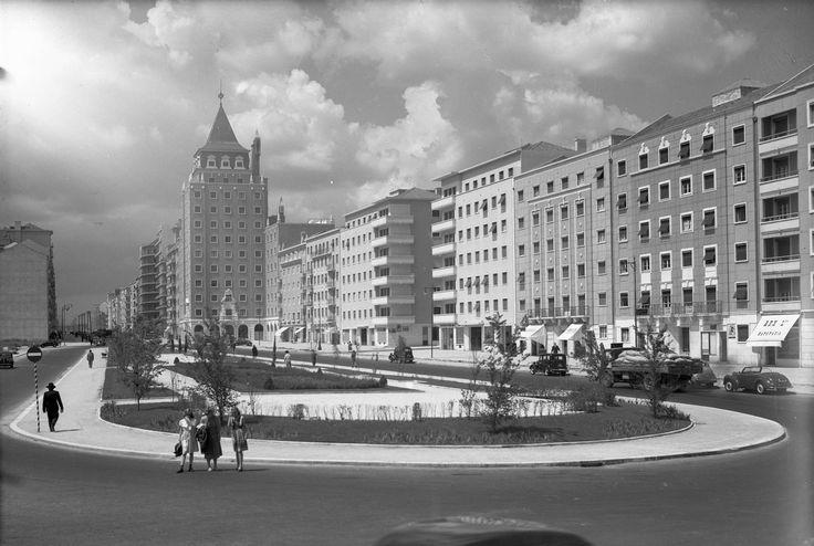 Praça de Londres, Lisboa (A. Passaporte, c. 1951)