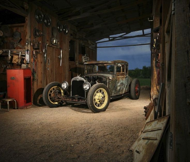 203 Best Images About Cool Garages And Shops On Pinterest