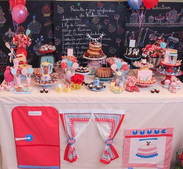 Festa Infantil | A cozinha da Valentina | Vestida de Mãe | Blog sobre Gravidez, Maternidade e Bebês por Fernanda Floret