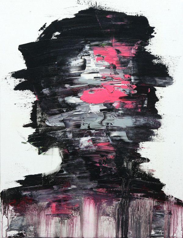 [138] untitled oil on canvas 53.0 x 40.9 cm 2013 by KwangHo Shin, via Behance