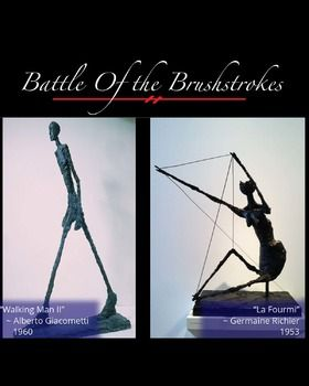 FREE Battle of the Brushstrokes: Distortion Art