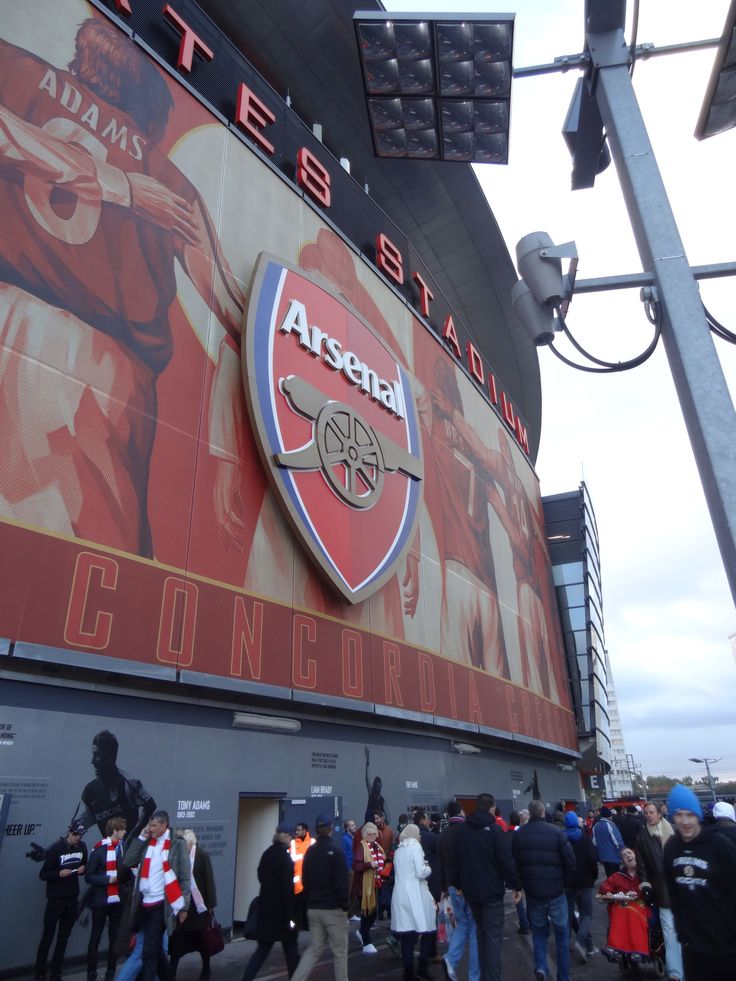 Emirates Stadium, London.     Football stadium for Arsenal FC. Slightly biased, as I support Arsenal, but this by far the best stadium ;)