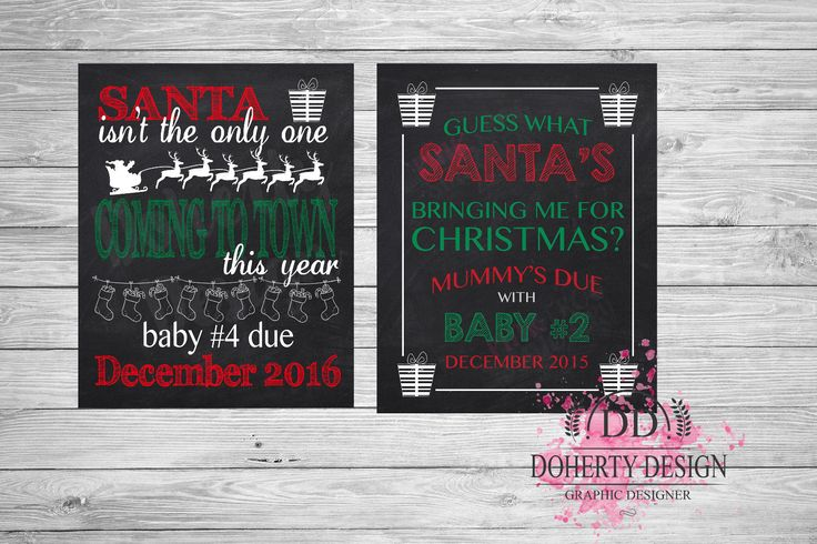 #Chalkboard pregnancy new baby #announcement #print {christmas},  View more on the LINK: http://www.zeppy.io/product/gb/2/182346852570/
