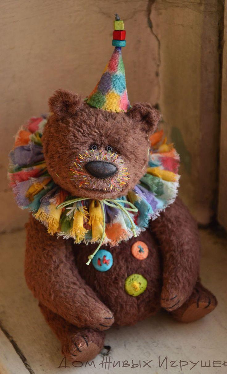 Collectible Teddy Bear | Коллекционный мишка тедди «Мозаика»