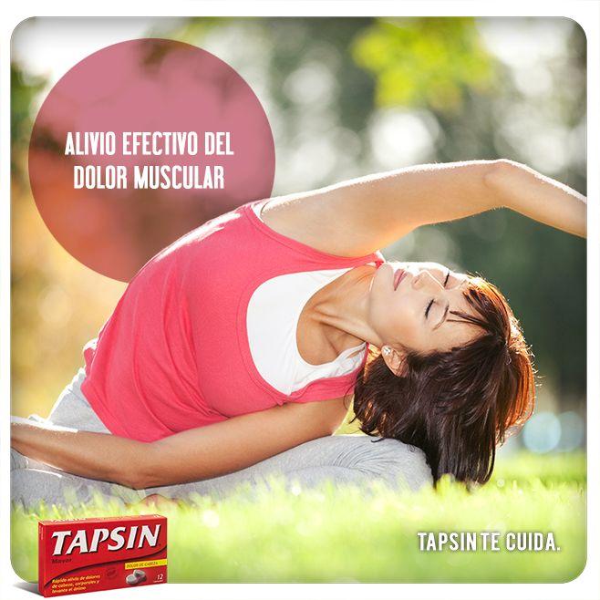 ¡Haz a un lado el dolor!  Tapsin #Analgésico es la solución para los dolores de cabeza, corporales y los malestares de la gripe y el resfrío. #Dolor #muscular