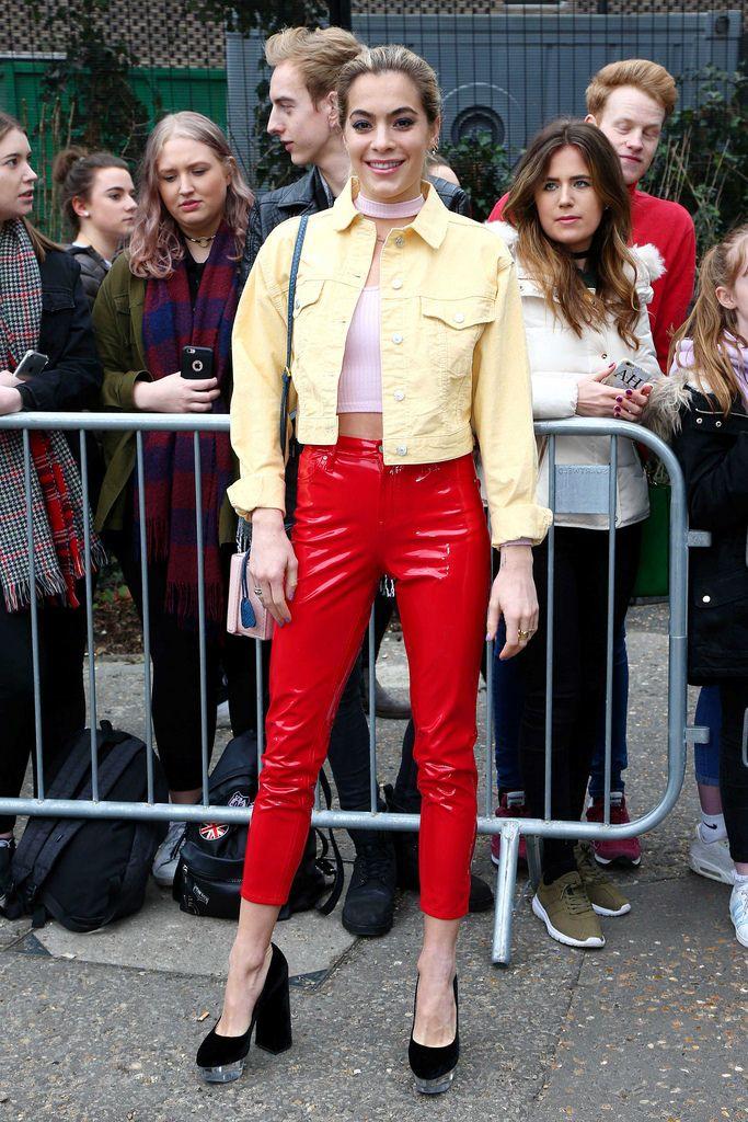 Alle Größen | Chelsea Leyland in vinyl pants | Flickr - Fotosharing!