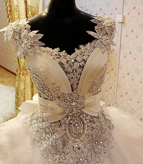 Gypsy Wedding Dress and Irish Traveller Wedding Dress, Wedding Dress Fantasy