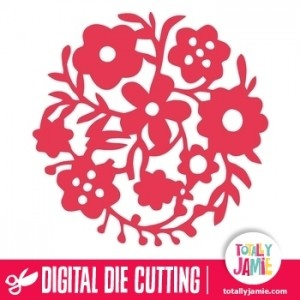 This floral flourish background circle is ideal for scrapbooking, card making, or to add a special touch to gift wrapping.Digital die cutting files are designed specifically with cutting machines in mind. Use them with programs such as your Silhouette, Cricut (SCAL/MTC), Pazzles, Klick-n-Kut, Wishblade or any cutting machine that can use the following file formats: SVG, PDF, and DXF.
