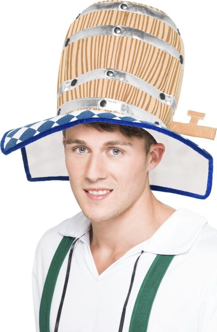 Dieser Fassbier-Hut ist ideal um Oktoberfest zu feiern
