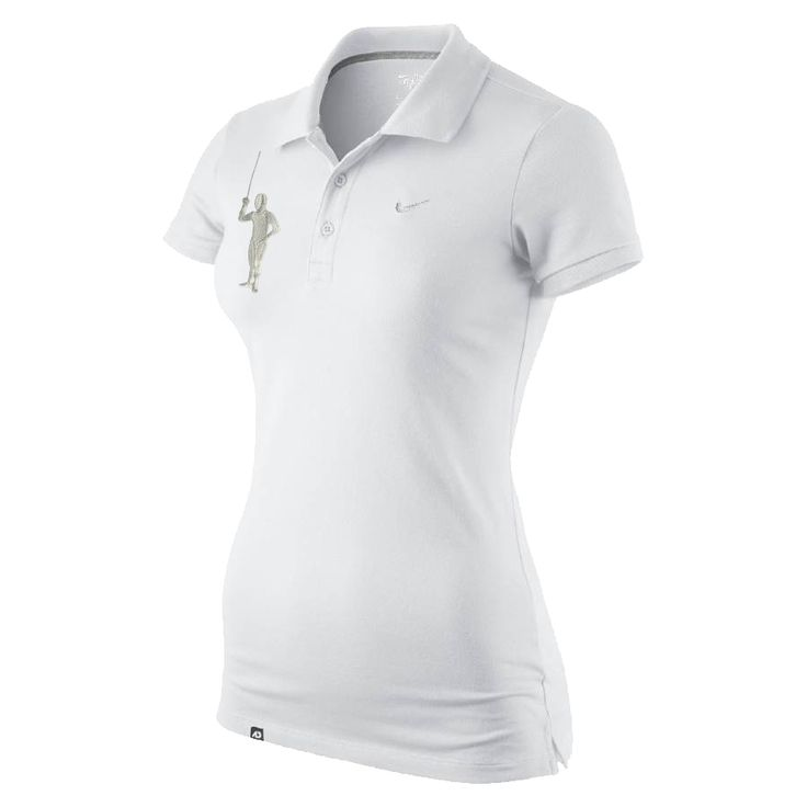 The Nike Fencing Polo is a fashionable Basic with amazing design and a must for any sporty woman. The Fencing Polo is characterized by a fashionable cut and classic style without flashy details, only with Swoosh logo embroidery and detailed fencer.
