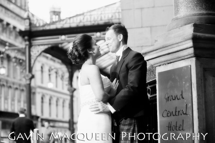 Wedding at The Grand Central Hotel, Glasgow.