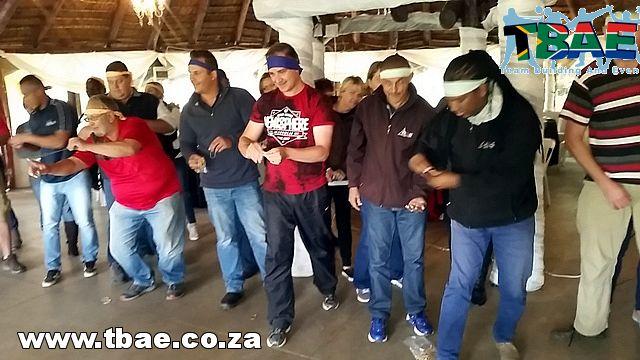 PEC Utility Management Minute To Win It Team Building Cape Town #minutetowinit #teambuilding #TBAE