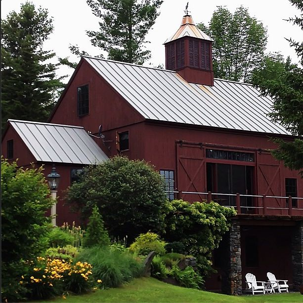 Renovated barn old barns pinterest for Barn renovation