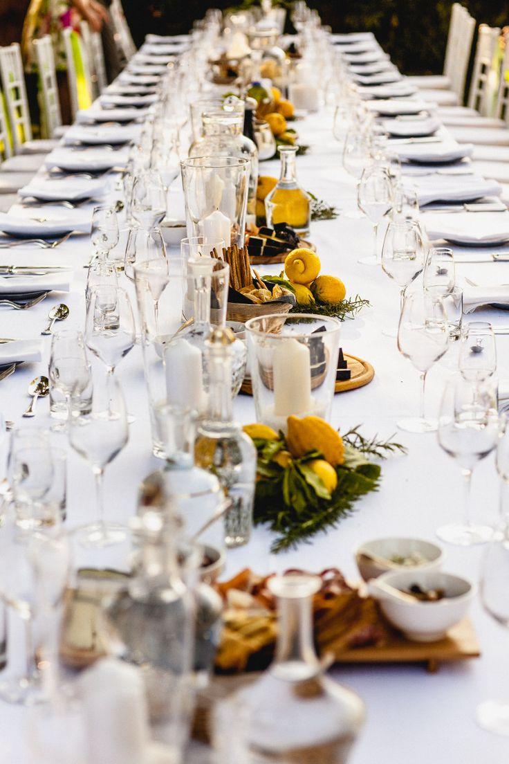 Modern Tuscan Themed Wedding Decor Composition - Wedding Idea 2018 ...
