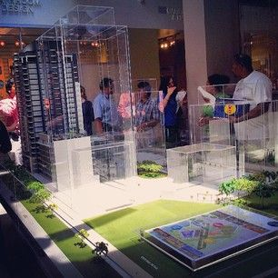 Our beautiful scale model for @melivingcondos showing the  upcoming phases!