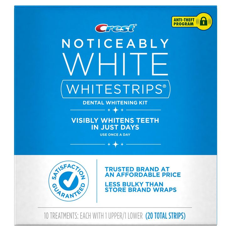 Crest Whitestrips Noticeably White - 10ct