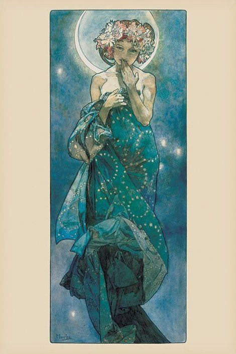 Alfons Mucha, Hold poszter
