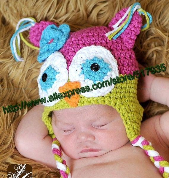 Free Crochet Owl Hat Pattern Toddler : free pattern for baby apple crochet hat - Google Search ...