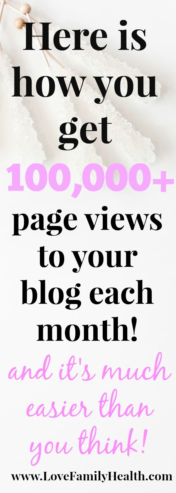 Time to increase your blogs traffic! And it's much easier than you think! #blogging