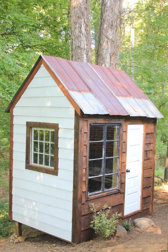 6' x 8' Potting Shed 99 Reclaimed Material by RusticArtistrees, $2800.00