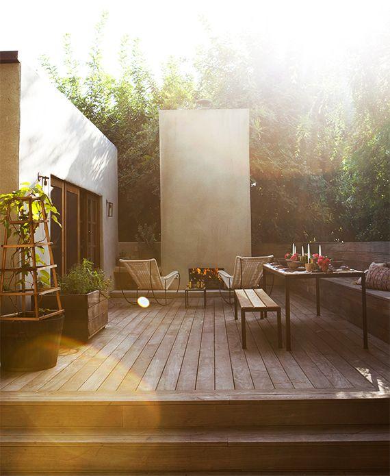 dream house : the backyard