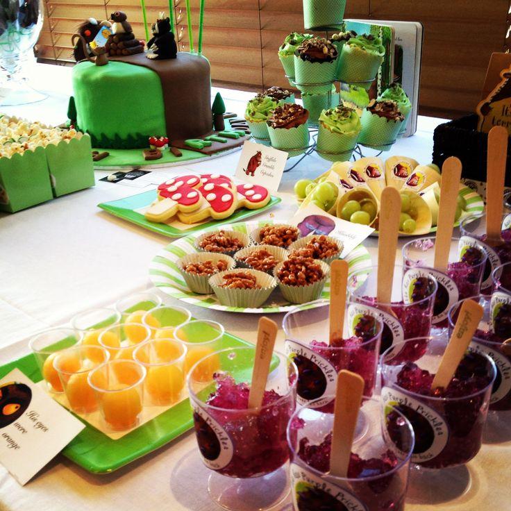 #gruffalo party food buffet